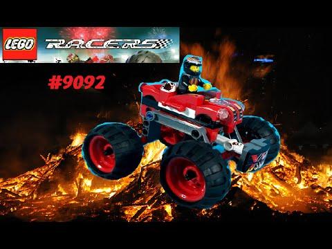 Vidéo LEGO Racers 9092 : Crazy Demon