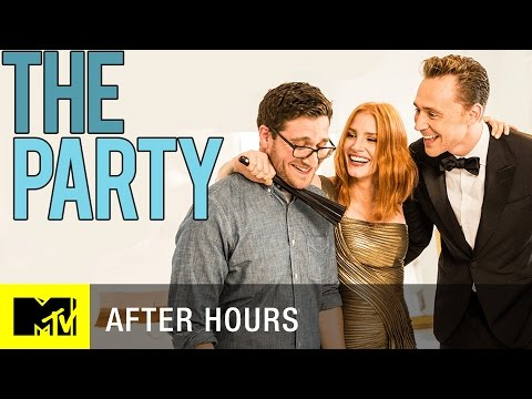 Tom Hiddleston and Jessica Chastain Throw the Worst Party Ever | MTV After Hours with Josh Horowitz (видео)