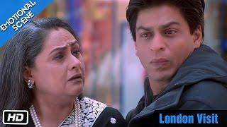 London Visit - Emotional Scene - Kabhi Khushi Kabhie Gham