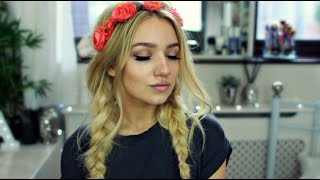 Festival Messy Braids Tutorial With Hair Extensions