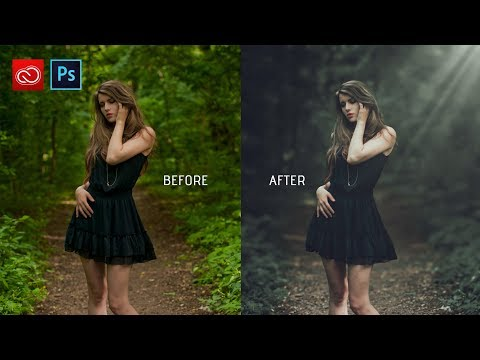 Photoshop cc tutorial: How to edit outdoor photo | How to retouch outdoor photo