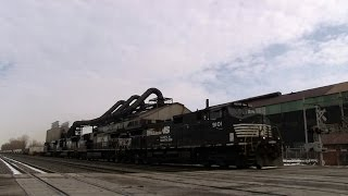 preview picture of video 'NS 9101 at Erie Forge (01MAR2014)'