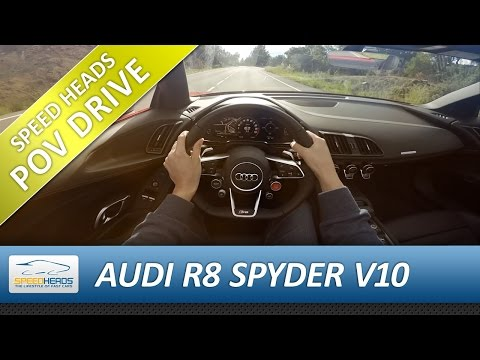 Audi  R8 Spyder Купе класса A - тест-драйв 4