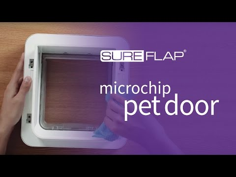 How to clean your SureFlap Microchip Cat Door