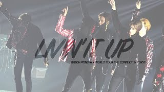 181006 MONSTA X WORLD TOUR THE CONNECT IN TOKYO - LIVIN'IT UP 민혁 FOCUS