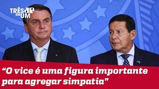 Bolsonaro fala sobre relacionamento com Mourão e eleições 2022