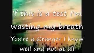 The Academy Is-The Test with lyrics