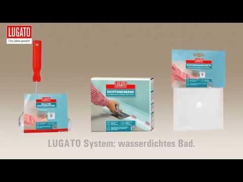 LUGATO Produkte für die wasserdichte Sanierung im Bad