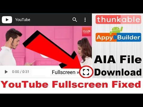 Makeroid WebView Download Problem Fixed Tutorial | AIA File
