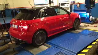 Rullata rimappatura centralina Audi s1 tsfi 231cv