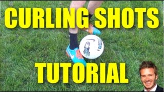 How To Curl A Football! | Tutorial