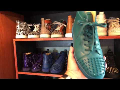 Louboutin Sneakers Collection! Straight Fire!