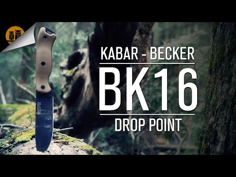 Kabar • Becker BK16 Drop Point • Survival Knife Field Review