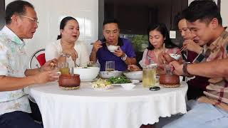 VLOG 367 ll ăn cơm niêu chú cháu bàn về ngày đại thọ của nội