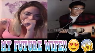 YOUNOW SINGING | FOUND MY WIFE! [BEST REACTIONS] [2017]
