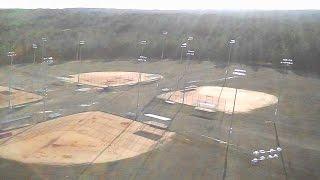 Baseball Field Flight - Syma X5C Quadcopter Demo