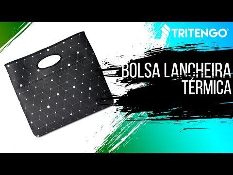 Bolsa Lancheira Térmica Life Style Unissex Personalizada em Neoprene