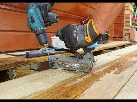 Byggtips - CAMO Trallskruvning för Verandabygge