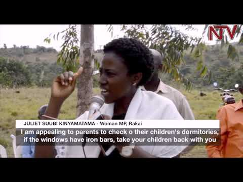 Rakai Fire: Gov't gives 5 million shillings to students' families
