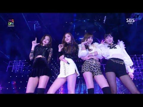 BLACKPINK - '마지막처럼 (AS IF IT'S YOUR LAST)' in 2017 SBS Gayodaejun (видео)