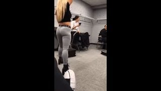 WWE's Mandy Rose shows off her assets! - Video Youtube