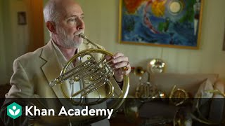French Horn: Interview and demonstration with principal John Cerminaro | Music | Khan Academy
