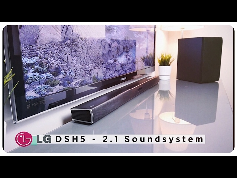 LG DSH5 2.1 Bluetooth Soundbar mit 300 Watt - Vorstellung & Klangtest [ Deutsch ]