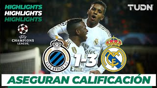 Highlights | Club Brujas 1 - 3 Real Madrid | Champions League - J 6 - Grupo A | TUDN