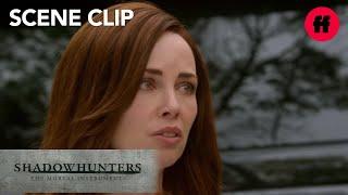 Shadowhunters | Season 2, Episode 2: Joccelyn & Luke Discuss Clary | Freeform