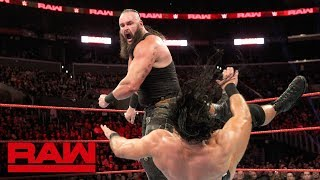 Braun Strowman gets a chance for retribution against his Survivor Series teammates in a Six-Man Elimination Tag Team Match.  #Raw  GET YOUR 1st MONTH of WWE NETWORK for FREE: http://wwenetwork.com --------------------------------------------------------------------- Follow WWE on YouTube for more exciting action! --------------------------------------------------------------------- Subscribe to WWE on YouTube: http://bit.ly/1i64OdT Check out WWE.com for news and updates: http://goo.gl/akf0J4 Find the latest Superstar gear at WWEShop: http://shop.wwe.com --------------------------------------------- Check out our other channels! --------------------------------------------- The Bella Twins: https://www.youtube.com/thebellatwins UpUpDownDown: https://www.youtube.com/upupdowndown WWEMusic: https://www.youtube.com/wwemusic Total Divas: https://www.youtube.com/wwetotaldivas ------------------------------------ WWE on Social Media ------------------------------------ Twitter: https://twitter.com/wwe Facebook: https://www.facebook.com/wwe Instagram: https://www.instagram.com/wwe/ Reddit: https://www.reddit.com/user/RealWWE Giphy: https://giphy.com/wwe