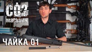 Пневматическая винтовка Чайка 11 от компании CO2 - магазин оружия без разрешения - видео 1