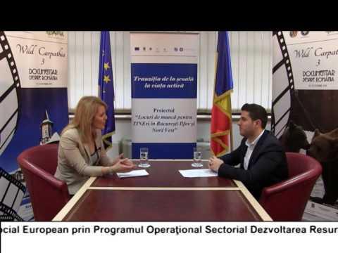 (VIDEO) Locuri de muncă pentru TINEri în București Ilfov și regiunea Nord Vest – ALEXANDRU VASILESCU (E29)