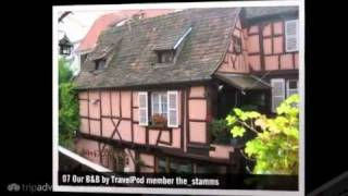 preview picture of video 'Is It Germany, or Is It France? The_stamms's photos around Colmar, France (rick steves colmar)'