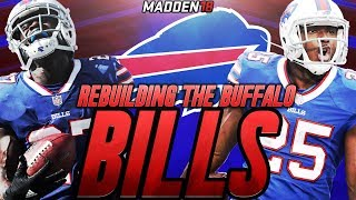 Madden 18 Connected Franchise   Rebuilding The Buffalo Bills   BEST DRAFT CLASS OF ALL TIME!