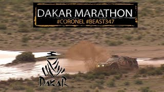 Marathon stages and cancelled bivouac for Coronel in the 2018 Dakar rally