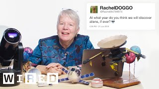 Astronomer Jill Tarter Answers Alien Questions From Twitter | Tech Support | WIRED