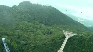 preview picture of video 'Langkawi Sky Bridge Aerial Video'