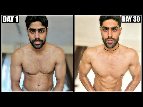 100 PUSH UPS EVERYDAY FOR 30 DAYS RESULTS | Body Transformation