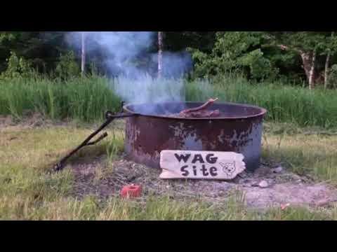Video Of Cookson Lake Dispersed Campsite, MI