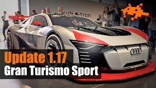 Gran Turismo Sport: Update 1.17 - Audi e-tron Quattro Vision GT