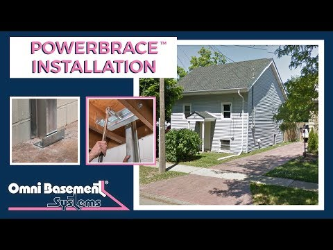 PowerBrace installation in St. Catharines