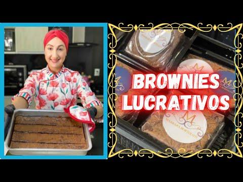 Como Fazer Brownie? Como Vender Brownie? Receita de brownie com Marrara Bortoloti   Brownie Fcil