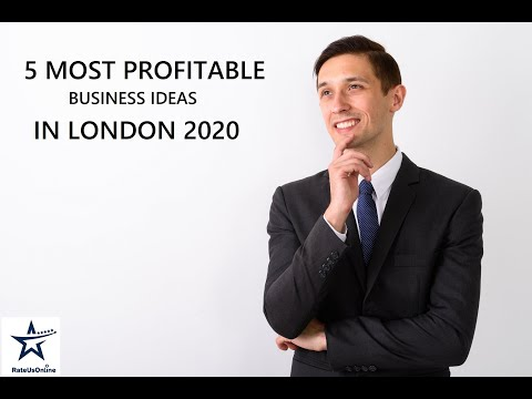 5 MOST PROFITABLE BUSINESS IDEAS IN LONDON 2020