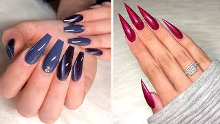 AWESOME NAIL DESIGNS FOR LONG NAILS