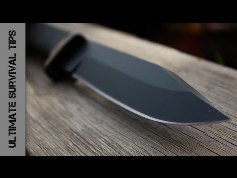 NEW – Cold Steel SRK Survival / Rescue Knife – REVIEW – Best Survival Knife under $90?