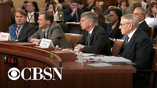 Day 1, Part 8: Questioning of impeachment witnesses gets heated