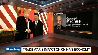 China's XI 'Wrong-Footed' on Trade War, Oxford's Magnus Says