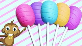 How To Make Easy Playdough Lollipops