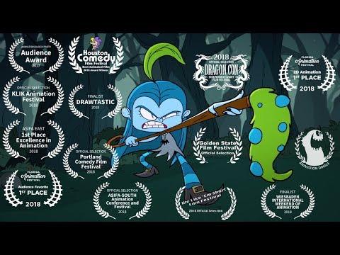 Bluehilda — короткометражка с поразительной анимацией про девочку-ведьму