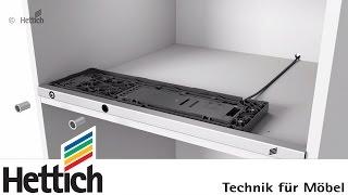 Montage - Griffloses Öffnungssystem für Kühlschränke